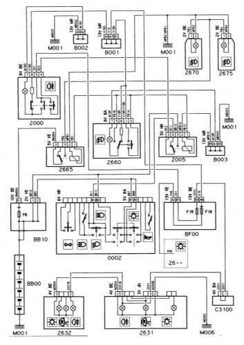 CITROEN Xantia Wiring Diagrams - Car Electrical Wiring Diagram on