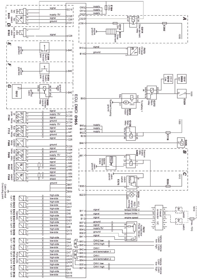 daf cf75  cf85 trucks wiring diagrams  car electrical