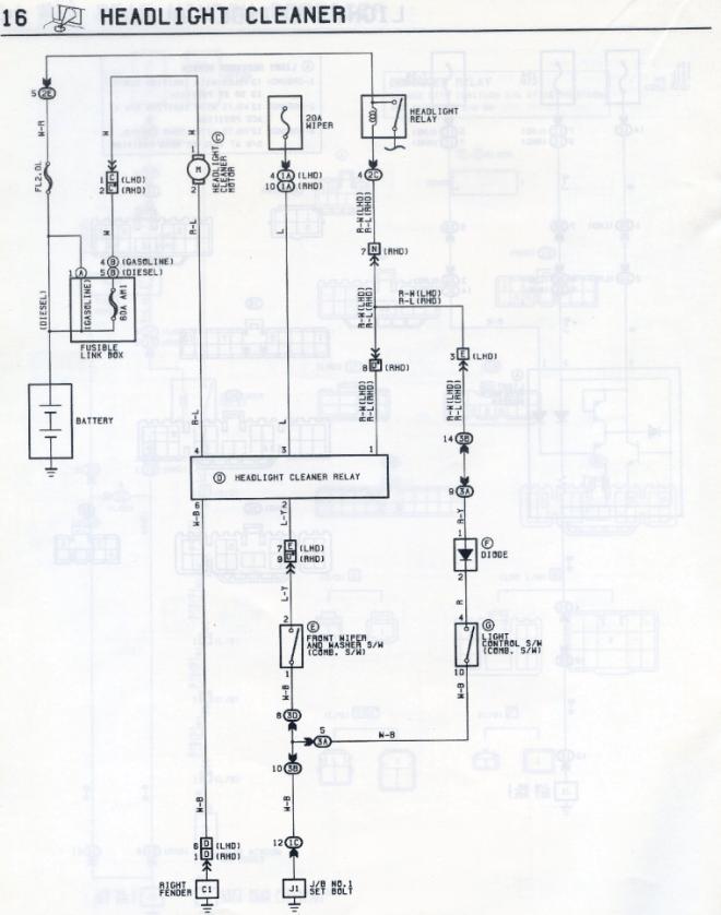 B5 Passat Headlight Wiring Diagram