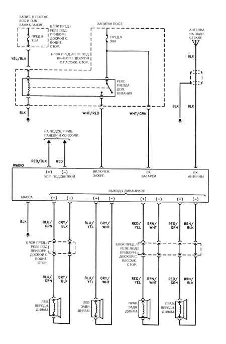 Honda Accord Wiring Diagrams Car Electrical Wiring Diagram