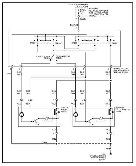 E46 Door Wiring Diagram