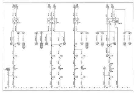 CORSA Heater of Rear Window Scheme