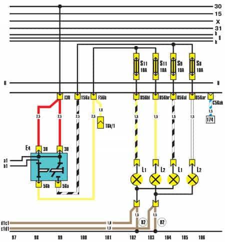 AUDI 100 Wiring Diagrams - Car Electrical Wiring Diagram | Audi Lights Wiring Diagram |  | Car Electrical Wiring Diagram - Jimdo