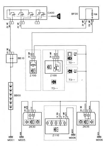 CITROEN Xantia Wiring Diagrams - Car Wiring Schematics on