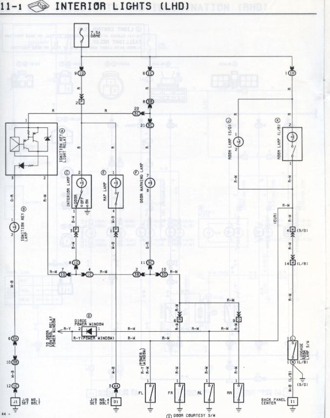 Toyota Carina 2 Wiring Diagrams