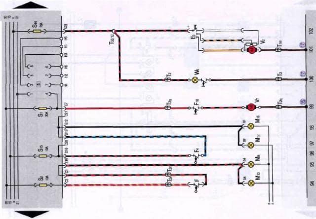 Vw Jetta 2 Wiring Diagrams Car Electrical Wiring Diagram