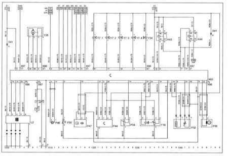 CORSA Engine X12XE Diagram