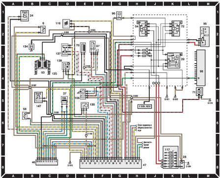ford escort ignition and fuel injection systems - engines 1,3 cfi until 1995  wiring
