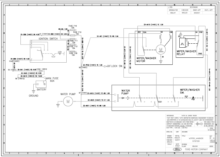 Ford Cargo Truck Wiring Diagrams