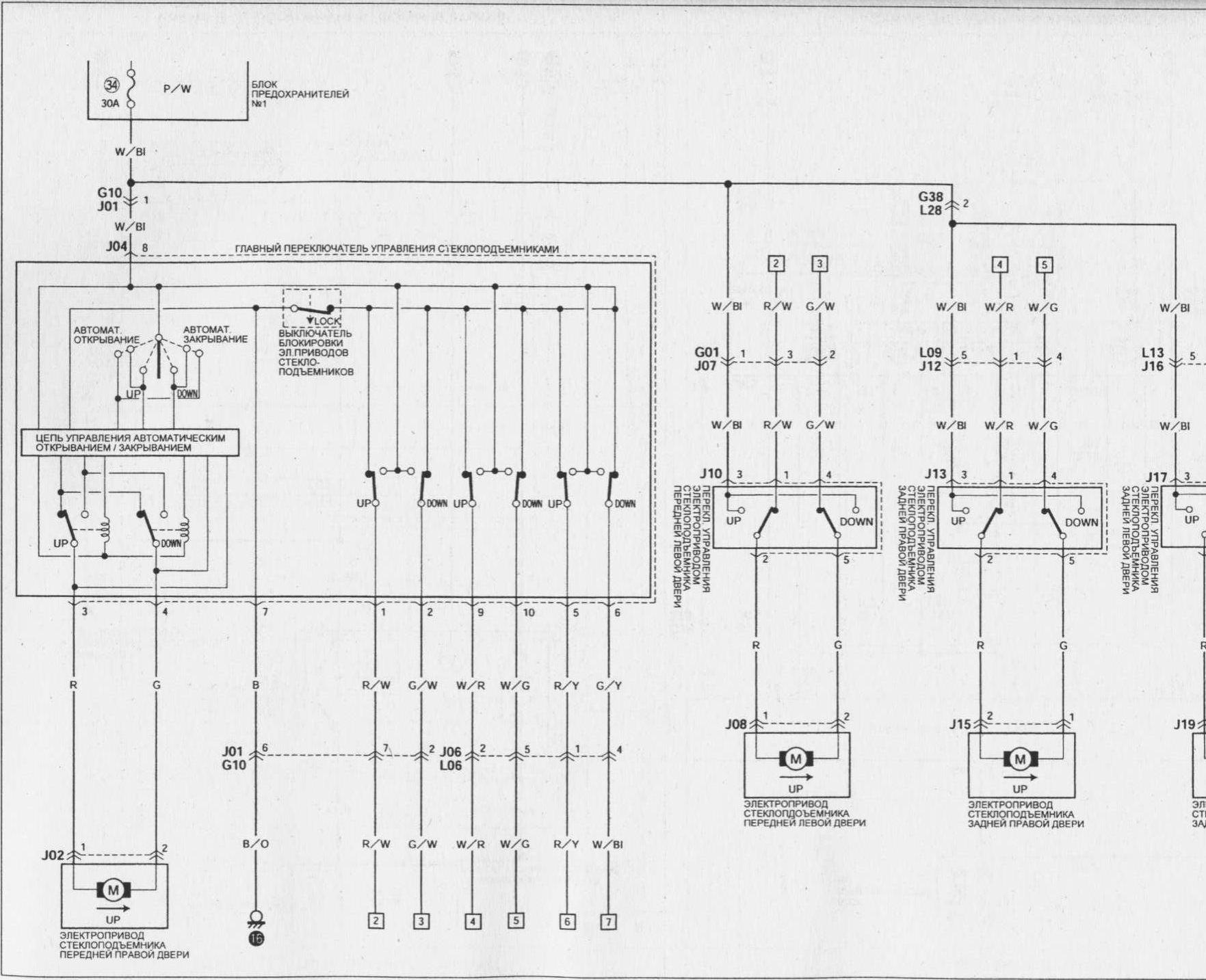 Suzuki Swift 1993 Wiring Diagram