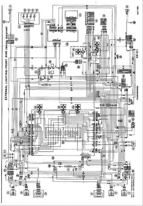 Alfa Romeo Speedometer Wiring Diagram