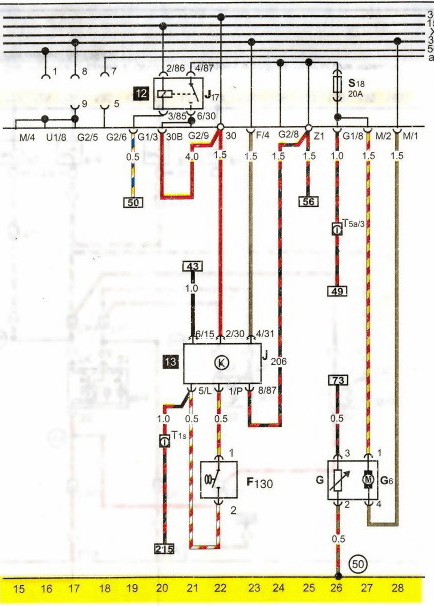 Wiring Diagram For Volkswagen Passat