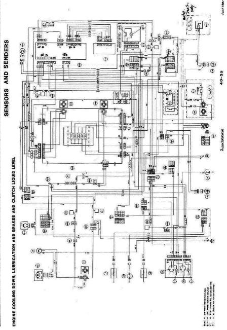 Alfa Romeo Milano Wiring Diagrams