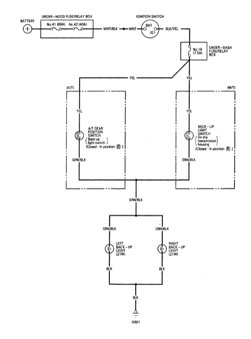 ACURA EL EWD, Fuses & Relay - Car Electrical Wiring DiagramCar Electrical Wiring Diagram - Jimdo