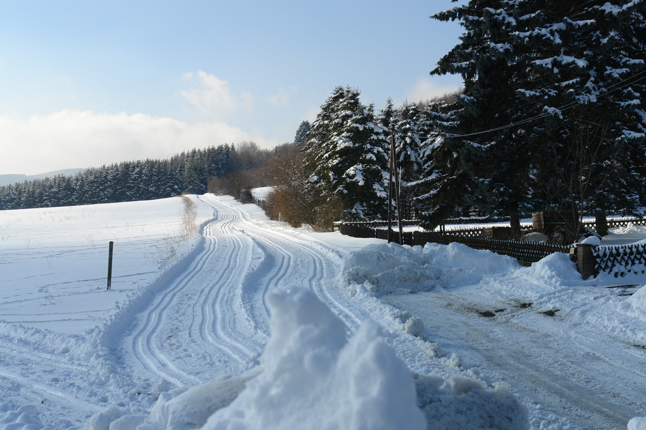 Einstieg Hesseberg-Loipe