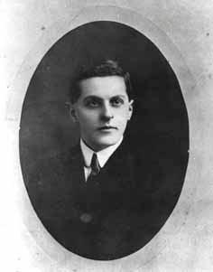 Der junge Ludwig Wittgenstein, Aufnahme von 1910.