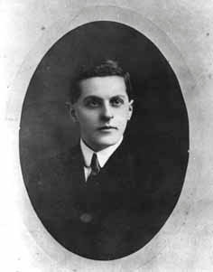 Der junge Ludwig Wittgenstein. Aufnahme aus dem Jahr 1910