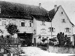 Gasthof Tanne im Jahre 1905