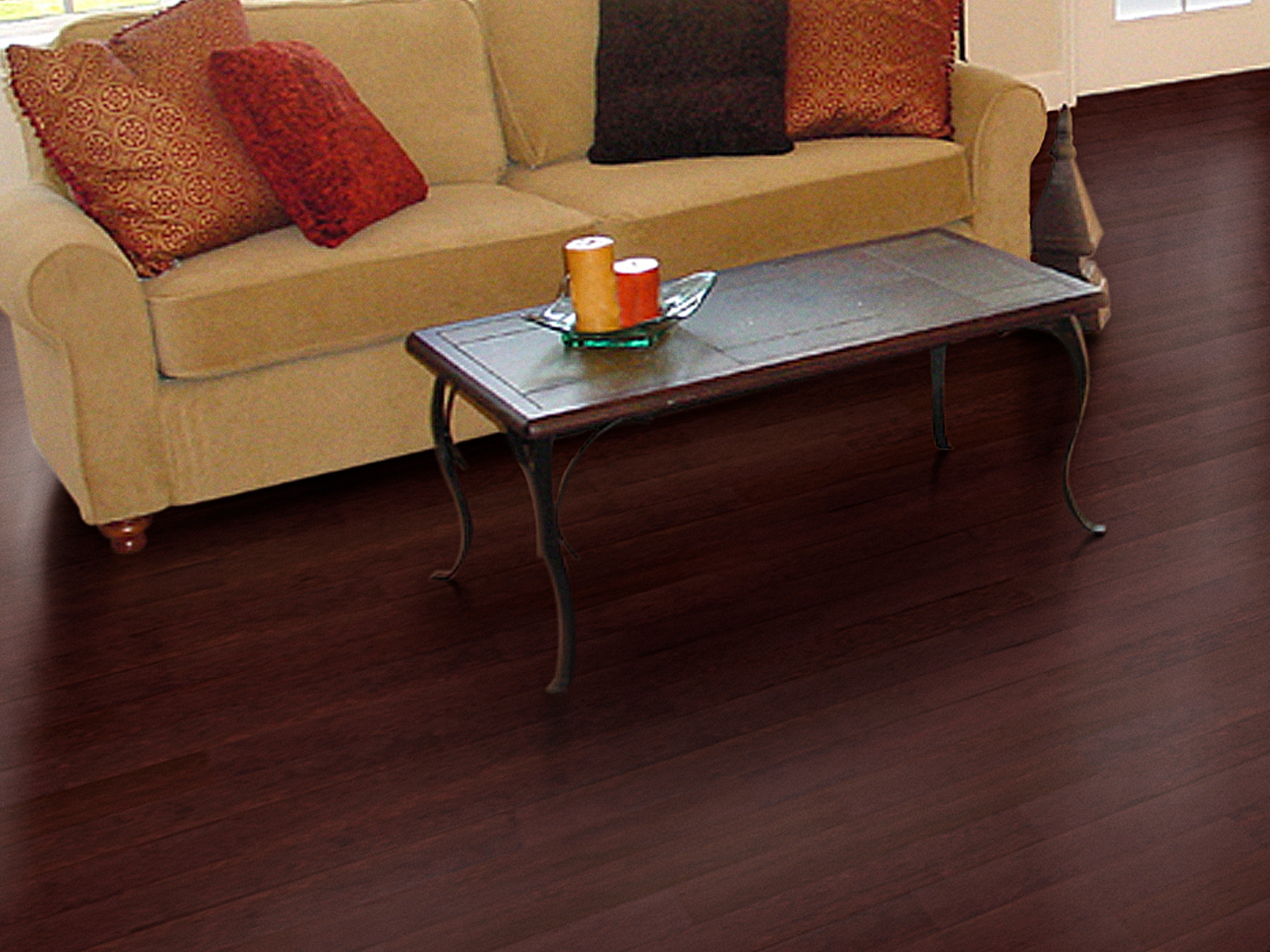 Lakeshore Hickory Collection Room Scenes Paramount Flooring