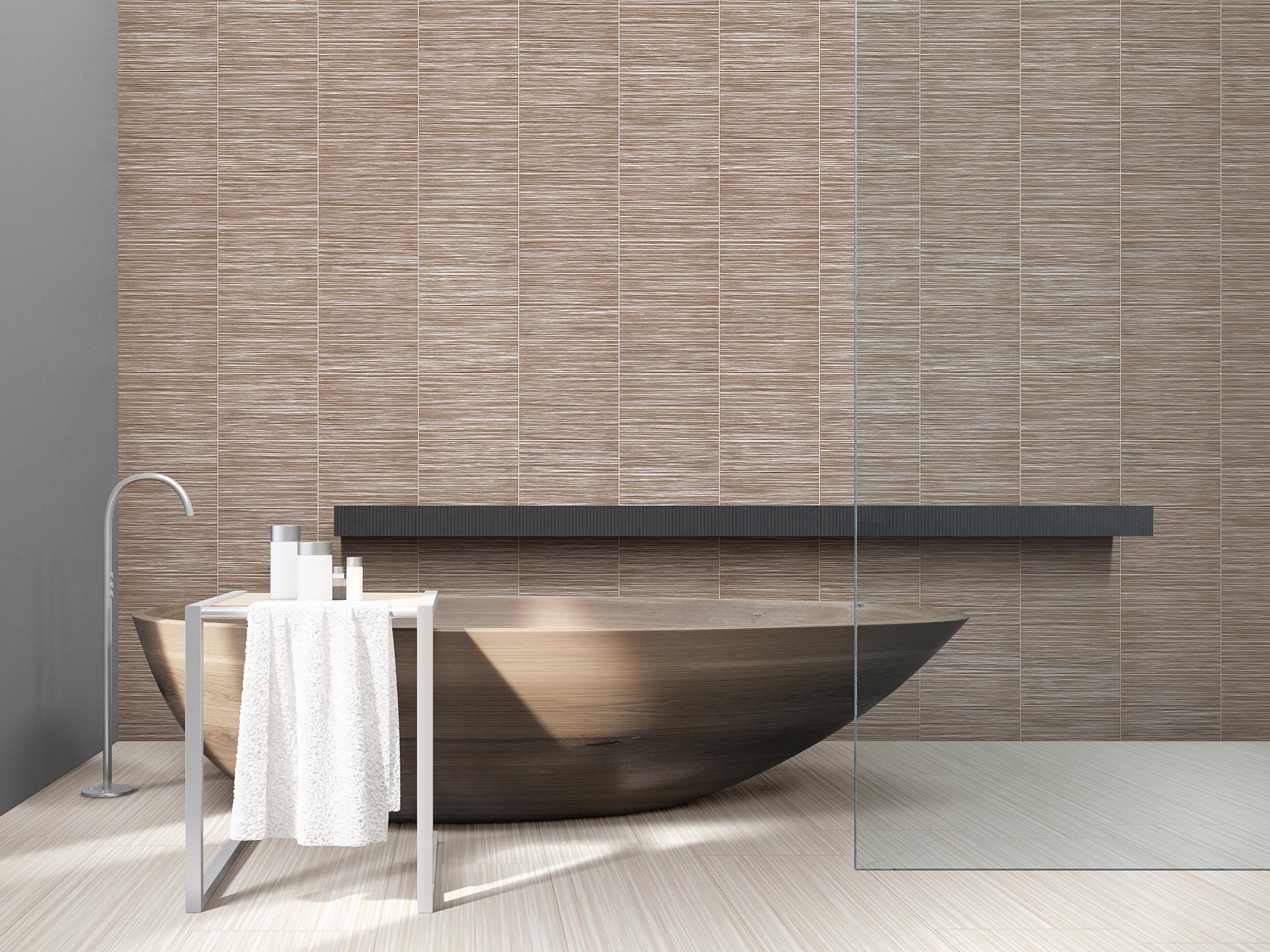Floor - Linen, Wall - Suede