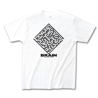 Tシャツイラスト BRAIN 脳