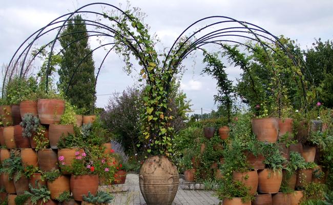 Marnay - Jardin botanique