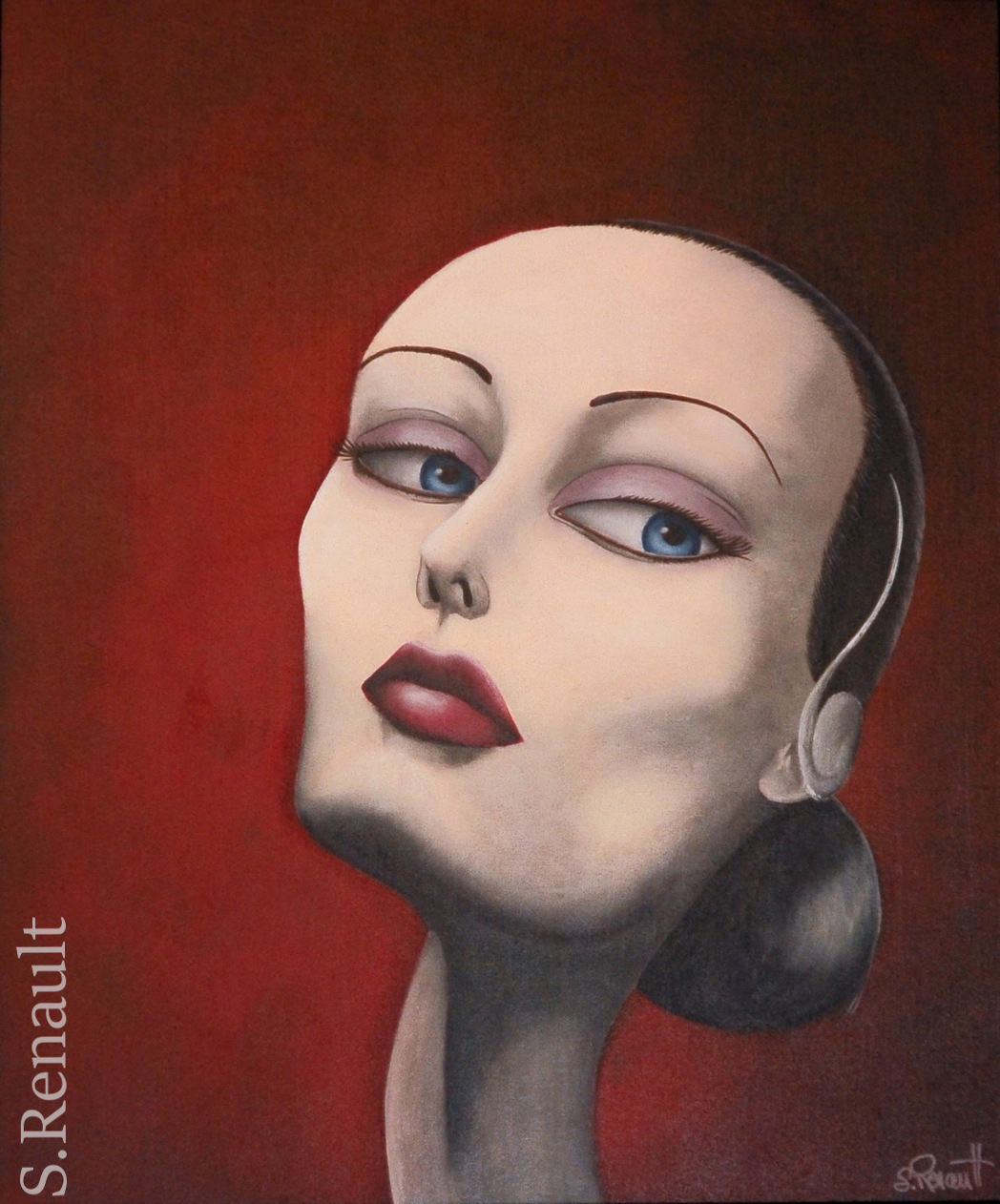 Black Swan.. or not ? (60x73 cm) 2011