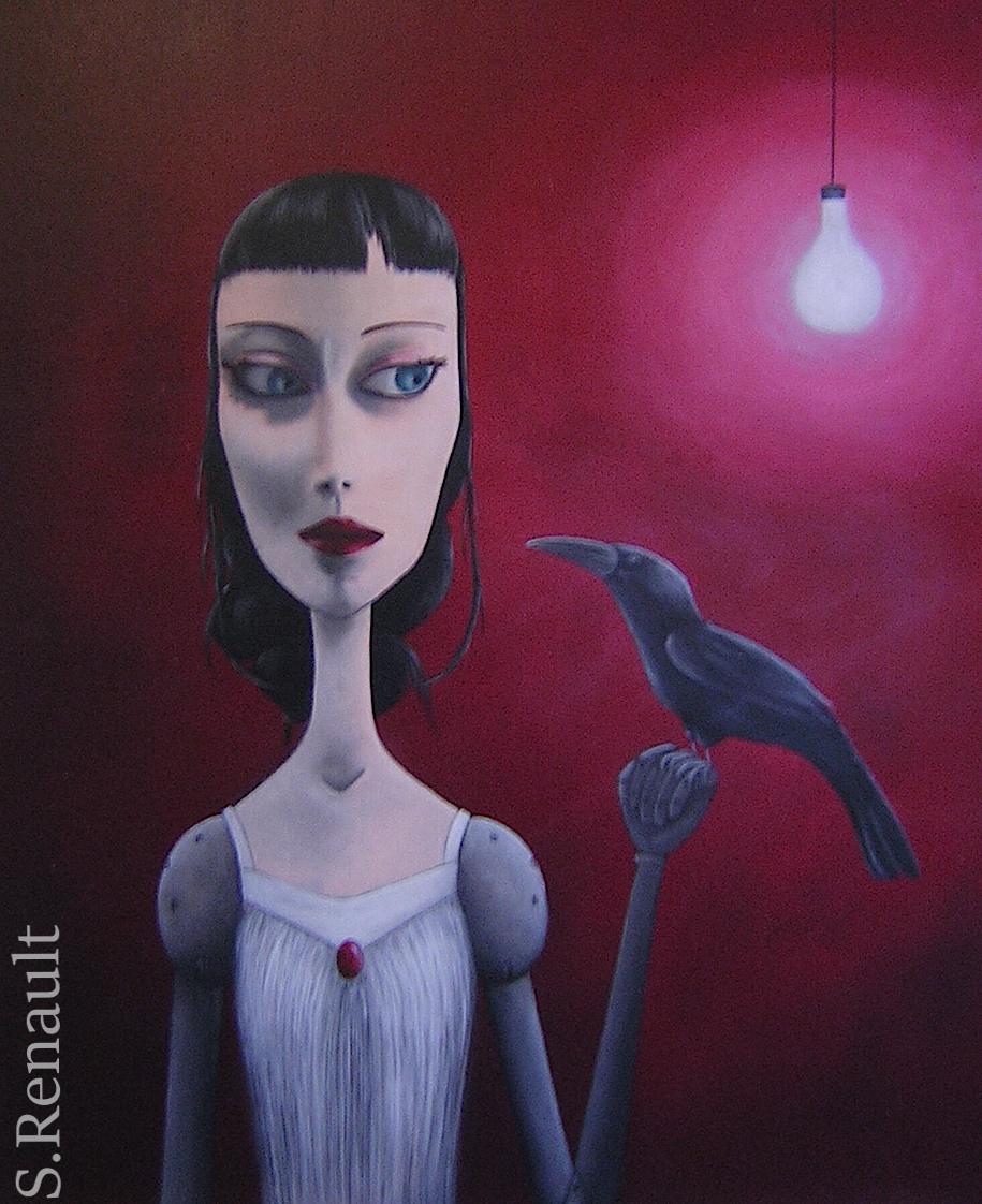 Confidences Nocturnes (73x60 cm) 2011