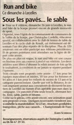 L'observateur Du Valenciennois : 24 juin 2005