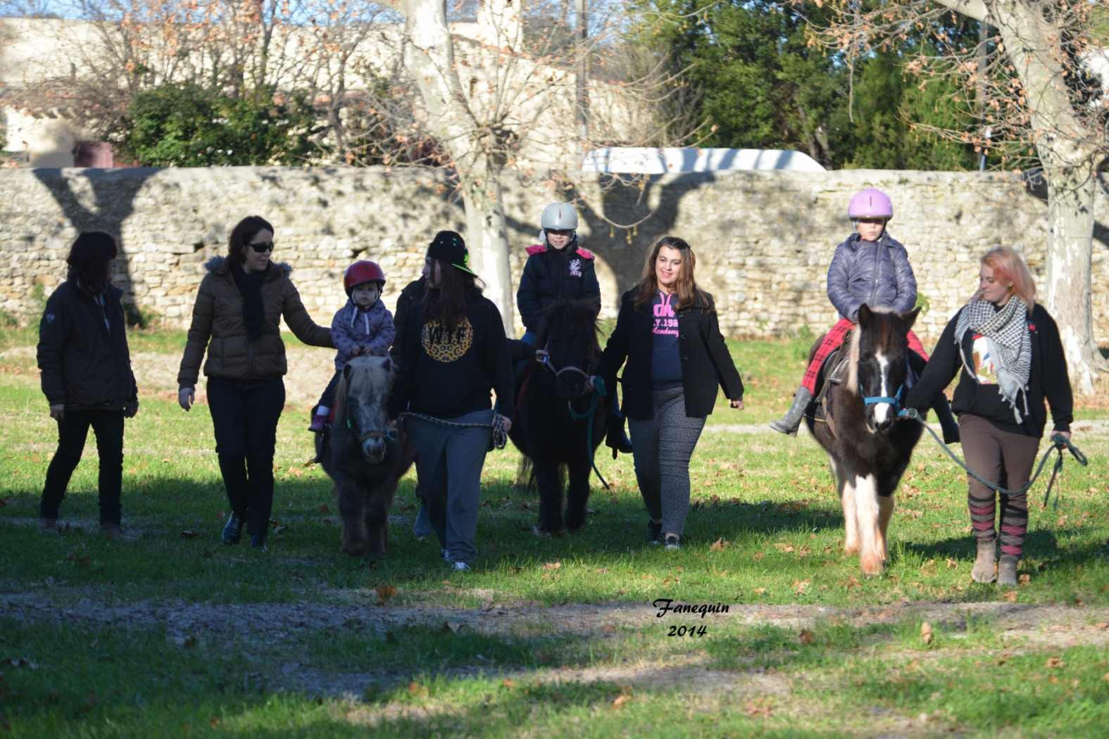 Marchés de Noël 2014 - Promenades en Poneys à Pignan - 08