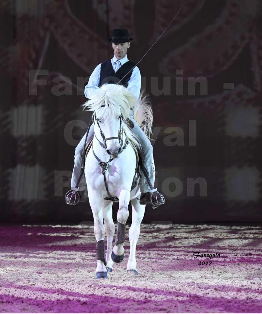 Cheval Passion 2017 - Spectacle des Crinières - Carrousel cavaliers & cavalières Camarguais