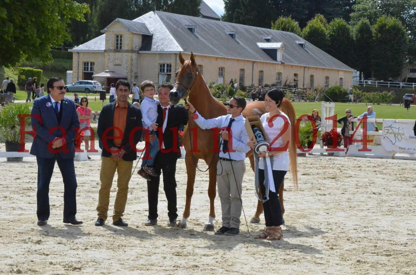 CHAMPIONNAT DE FRANCE 2014 A POMPADOUR - Championnat - LUTFINAH JA - 63