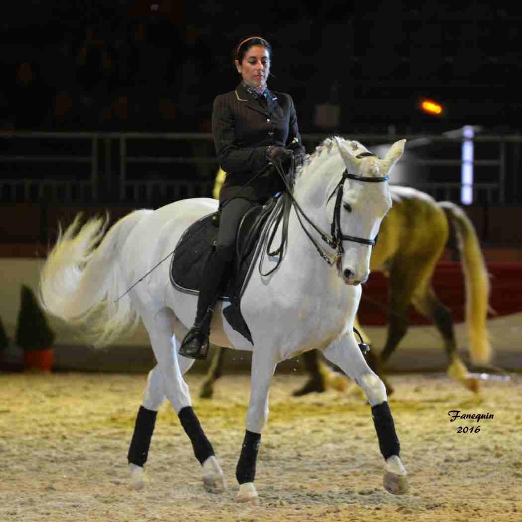 Cheval Passion 2016 - Présentation des LUSITANIENS - Ecurie de Max VENDRELL & Corinne BOUCHITTE - 46
