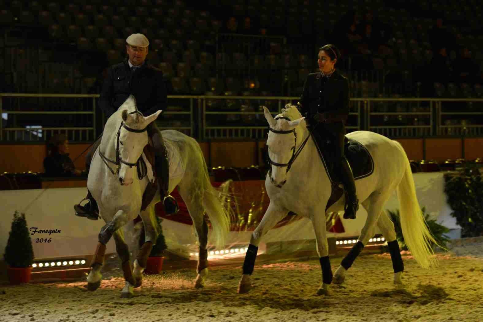 Cheval Passion 2016 - Présentation des LUSITANIENS - Ecurie de Max VENDRELL & Corinne BOUCHITTE - 50