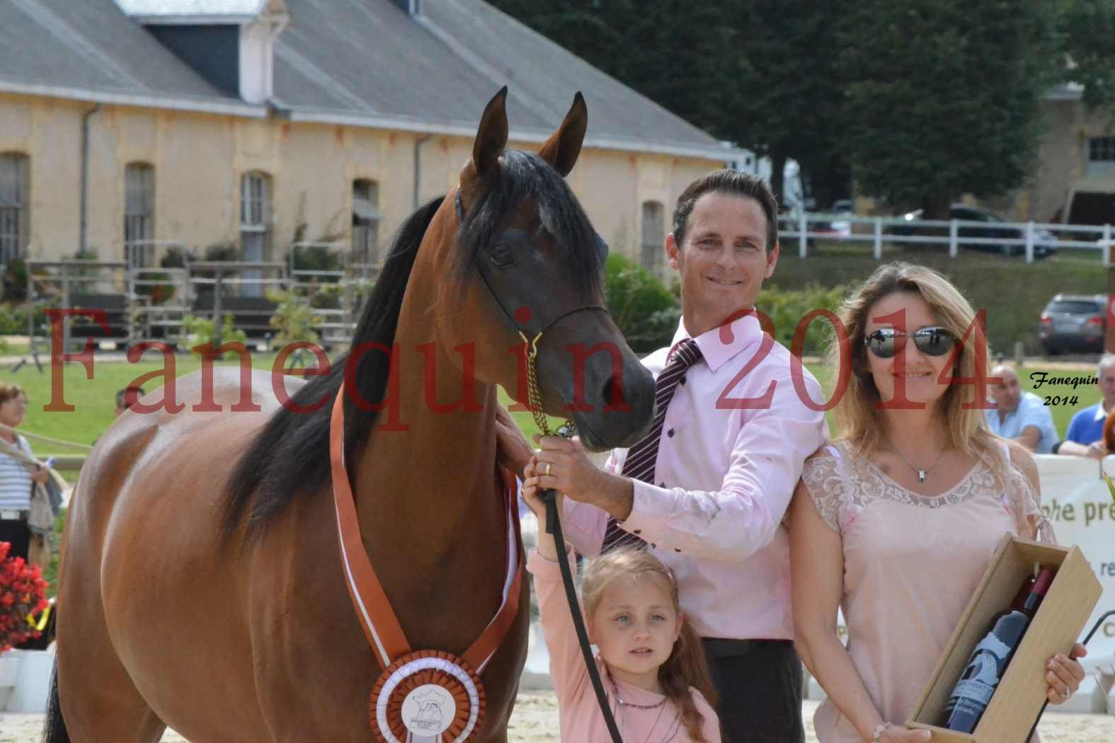 CHAMPIONNAT DE FRANCE 2014 A POMPADOUR - Notre Sélection - KARAWAN ALBIDAYER - 11