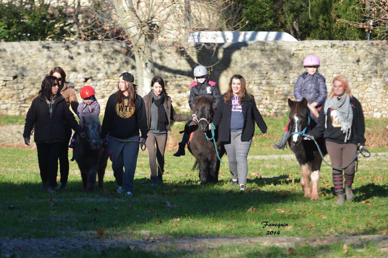 Marchés de Noël 2014 - Promenades en Poneys à Pignan - 07