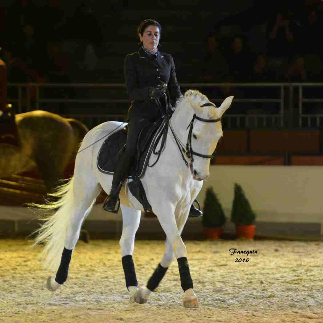 Cheval Passion 2016 - Présentation des LUSITANIENS - Ecurie de Max VENDRELL & Corinne BOUCHITTE - 43