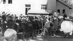 Der Musikverein im Jahr 1956