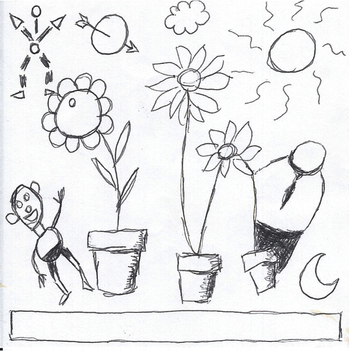 Blumentopfgeister