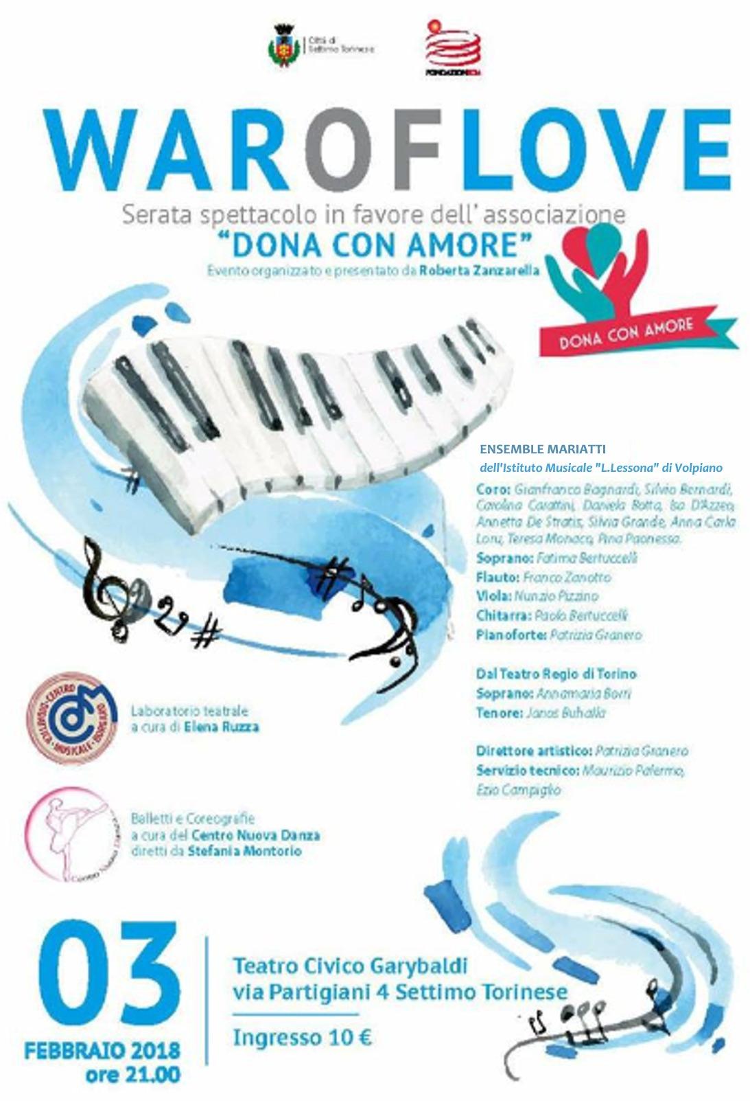 Ensemble Mariatti , febbraio 2018 - Teatro Garybaldi, Settimo T.se