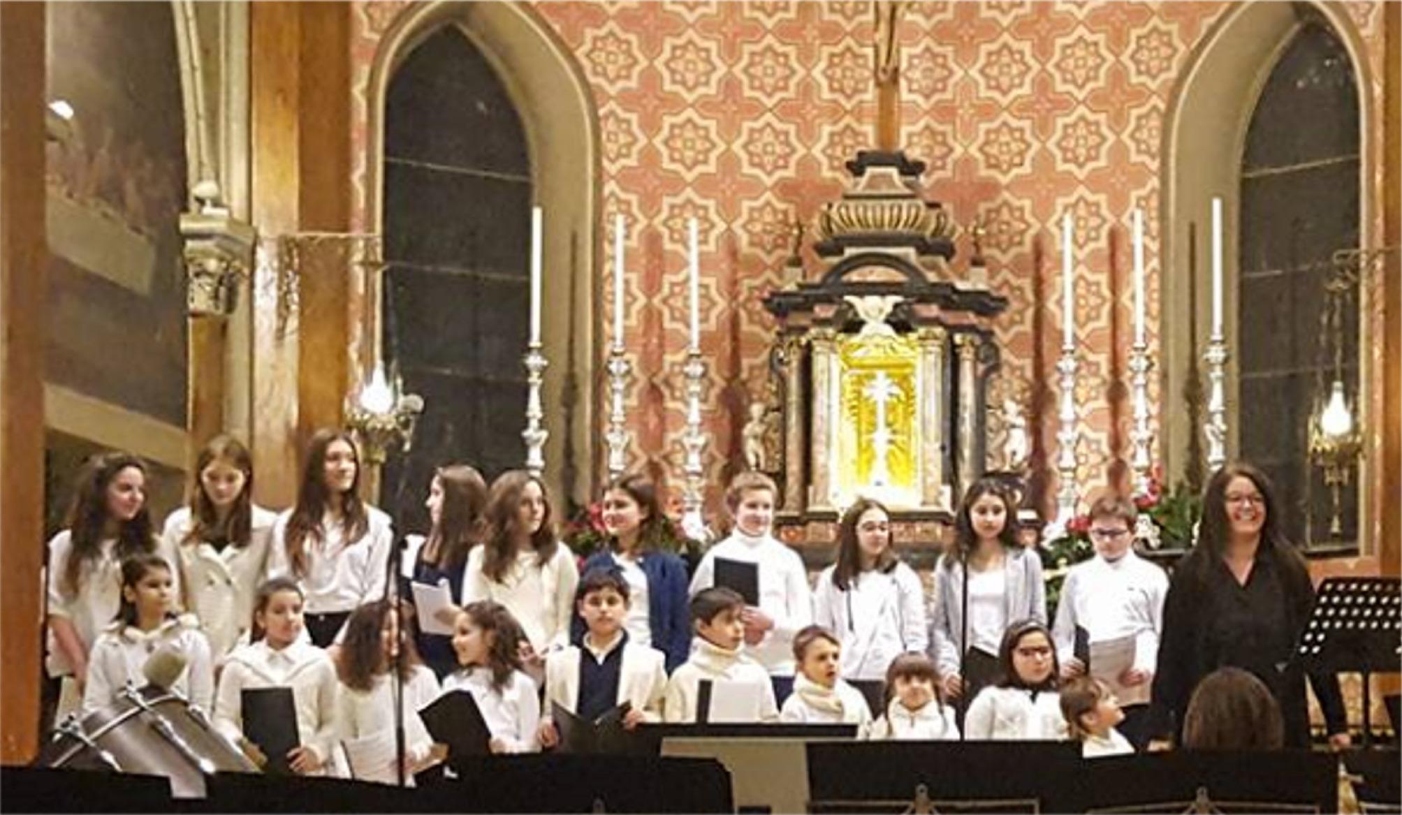 Concerto Natale 2017,chiesa Parrocchiale ,Volpiano