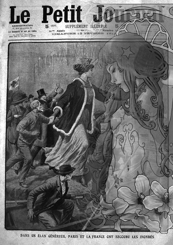 La grande inondation de 1910