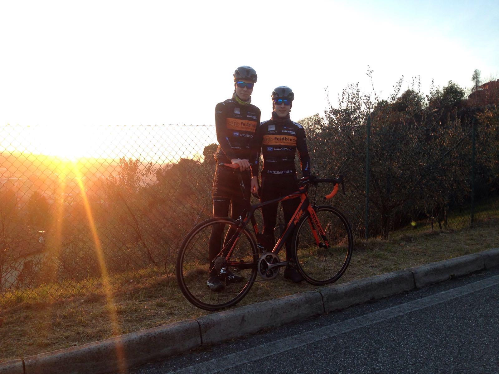 Patrick und Raphael in Italien