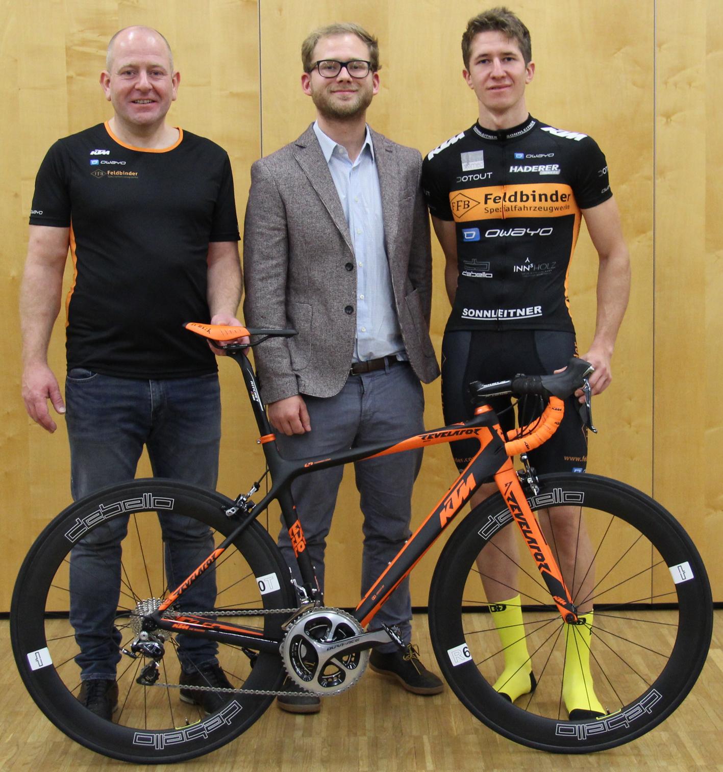 Andreas, Martin Tutschek von KTM, Matthias