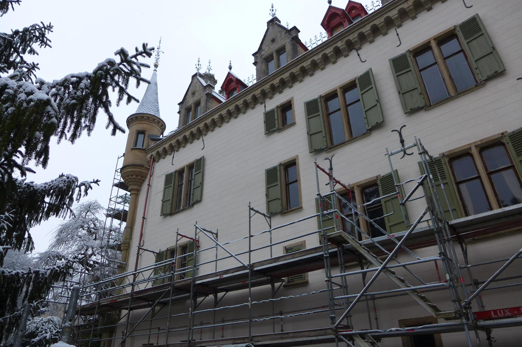Schloss Meysembourg, Luxembourg
