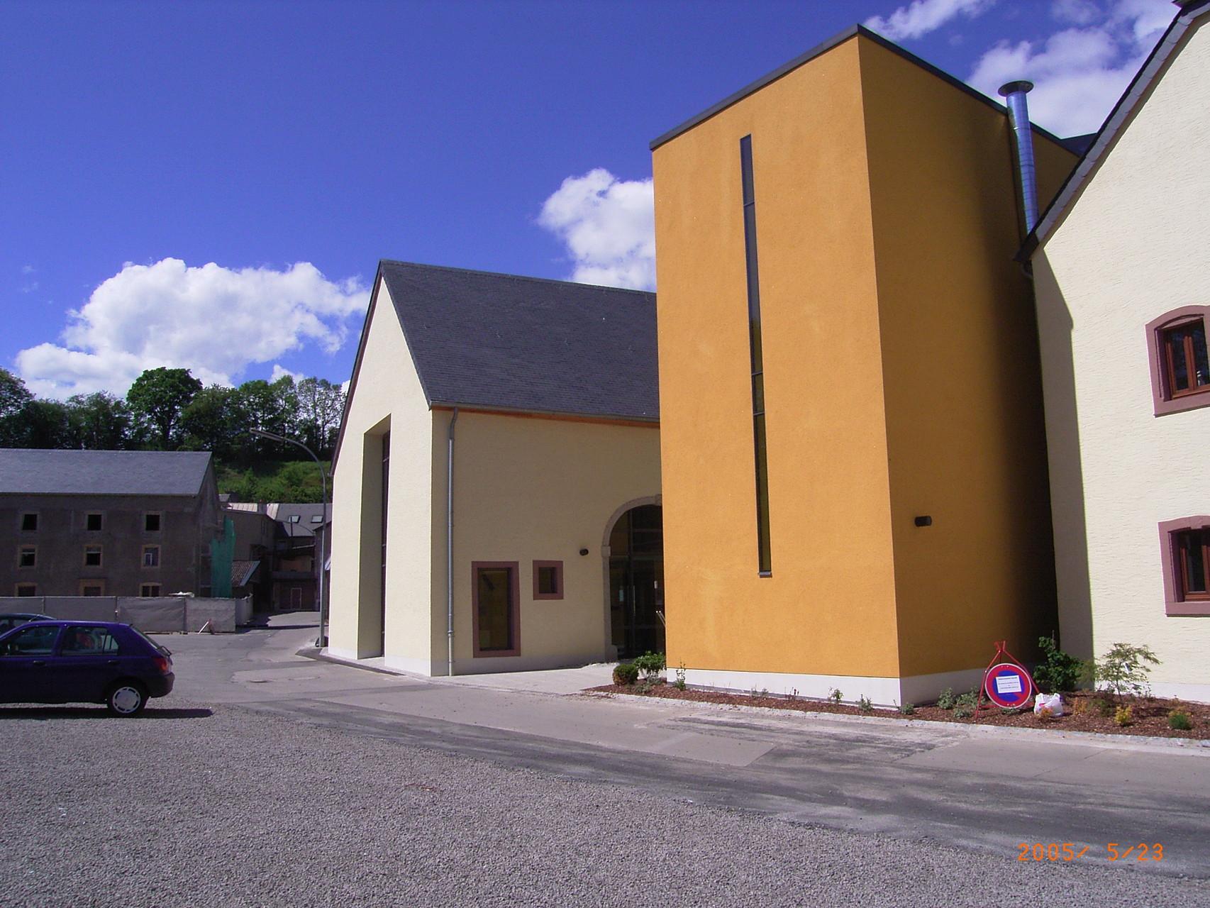 Verwaltungsgebäude Bissen, Luxembourg