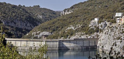 barrage de Sainte Croix