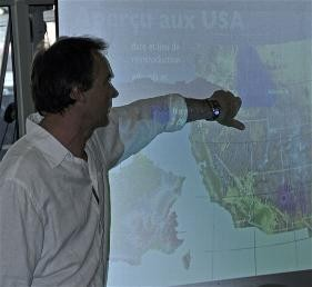 Marc Vincent technicien INRA