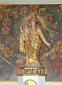 tableau du Rosaire