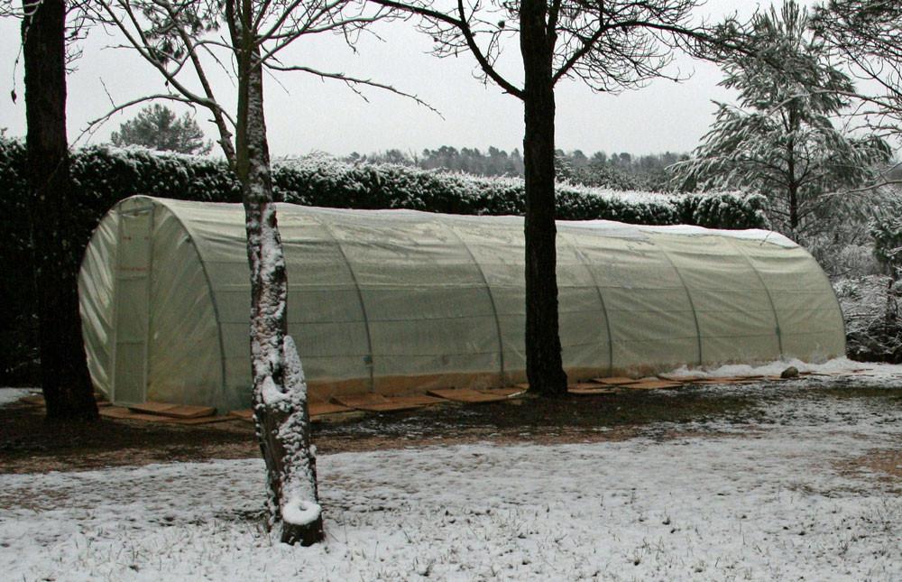 9 Parfois en hiver, il neige en Provence 4 février 2015